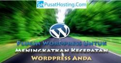 Kecepatan Wordpress